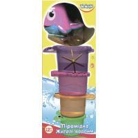 Игрушка для ванной BeBeLino Пирамидка Жители водоемов (57047)