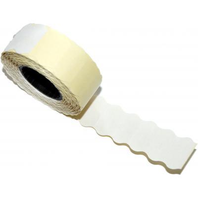 Этикет-лента Aurika 22х12 white, 30 рул (2212W)
