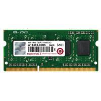 Модуль пам'яті для ноутбука SoDIMM DDR3 4GB 1600 MHz Transcend (JM1600KSH-4G)