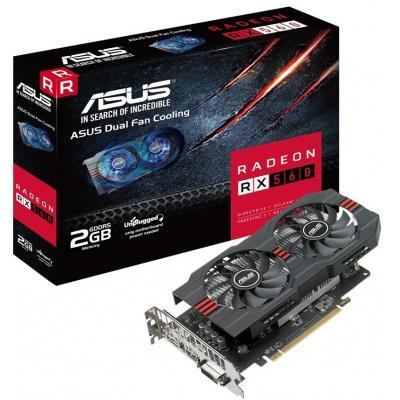 Видеокарта ASUS Radeon RX 560 2048Mb OC (RX560-O2G)