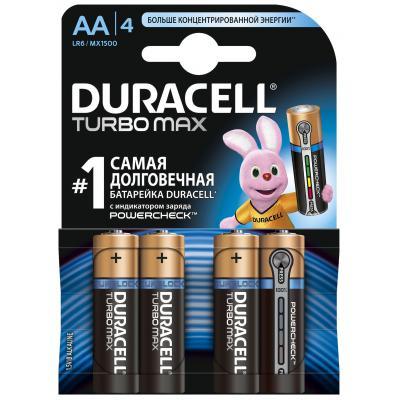 Батарейка AA TURBO LR6 MN1500 * 4 Duracell (81255915/81331006)