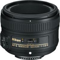 Об'єктив Nikkor AF-S 50mm f/1.8G Nikon (JAA015DA)