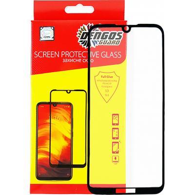 Стекло защитное DENGOS Full Glue Huawei Y5 2019 (black) (TGFG-69)