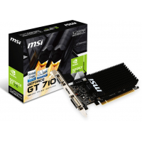 Відеокарта GeForce GT710 1024Mb MSI (GT 710 1GD3H LP)