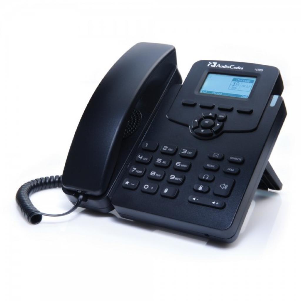 IP телефон AudioCodes UC405EPS