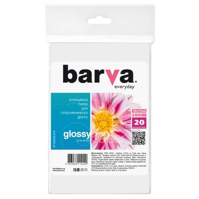 Бумага BARVA 10x15 Everyday 200г Glossy (IP-CE200-215)