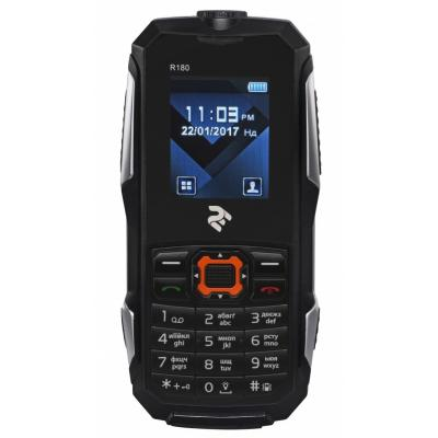 Мобильный телефон 2E R180 Dual Sim Black (708744071026)