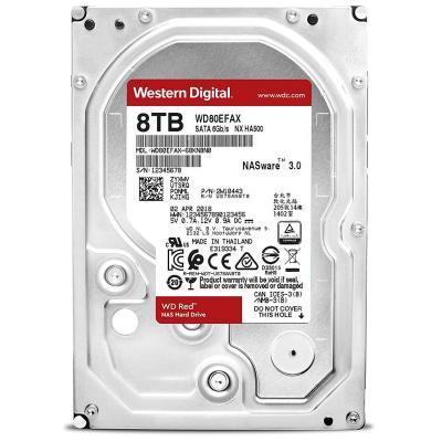 """Жесткий диск 3.5"""" 8TB Western Digital (WD80EFAX)"""