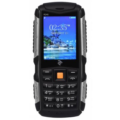Мобильный телефон 2E R240 Dual Sim Black (708744071057)