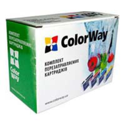 Комплект перезаправляемых картриджей ColorWay Canon 3600/4600 (chip, 4х100мл) (IP3600RC-4.1)