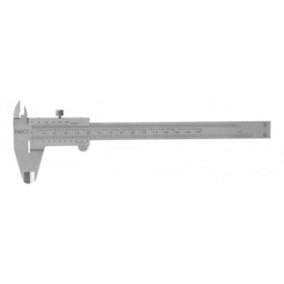 Штангенциркуль NEO 150 мм, нержавеющая сталь (75-000)