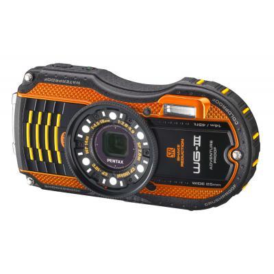 Цифровой фотоаппарат Pentax Optio WG-3 orange kit (1269406)