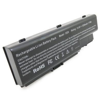 Аккумулятор для ноутбука Acer Aspire 5520 (AS07B32) 5200mAh EXTRADIGITAL (BNA3912)
