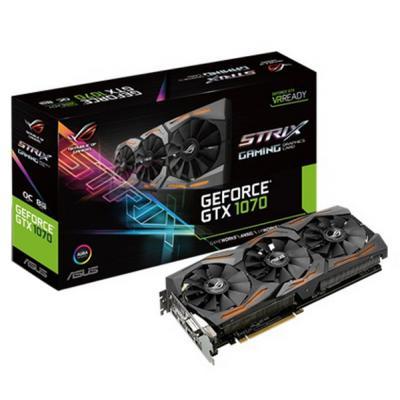 Видеокарта ASUS GeForce GTX1070 8192Mb ROG STRIX (STRIX-GTX1070-O8G-GAMING)