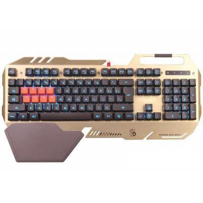 Клавиатура A4-tech Bloody B418 USB Golden