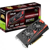 Видеокарта ASUS GeForce GTX1050 2048Mb EXPEDITION OC (EX-GTX1050-O2G)