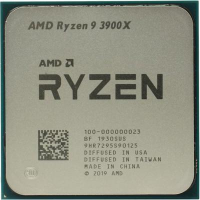 Процессор AMD Ryzen 9 3900X (100-000000023)