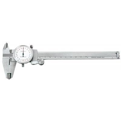 Штангенциркуль Topex 150 мм, с аналоговой индикацией результата (31C627)