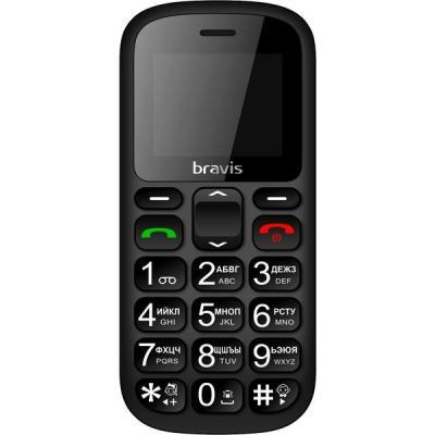 Мобильный телефон Bravis C181 Senior Black