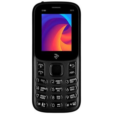 Мобильный телефон 2E E180 2019 Black (680576170033)