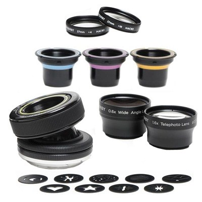 Набор оптики Lensbaby Creative Effects System Kit for Canon EF (LBCESKC)