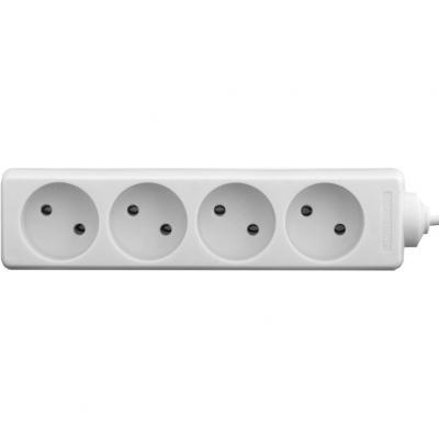 Сетевой фильтр питания LogicPower LP-WX4 2м (3311)