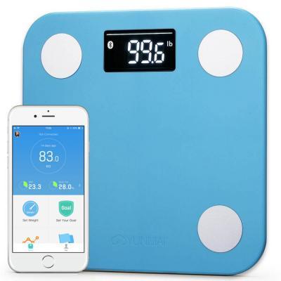 Весы напольные YUNMAI Mini Smart Scale Blue (M1501-BL)