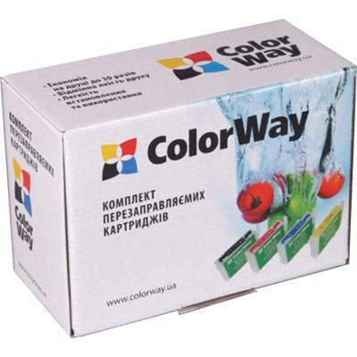 Комплект перезаправляемых картриджей ColorWay BROTHER LC-61/LC-980/LC-1100 (DCP145RN-4.1)