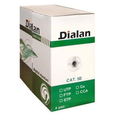 Кабель сетевой Dialan FTP 305м КПВЭ 4*2*0,50 [СU] cat.5e (10554)