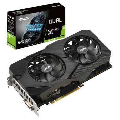 Видеокарта ASUS GeForce GTX1660 SUPER 6144Mb DUAL EVO (DUAL-GTX1660S-6G-EVO)