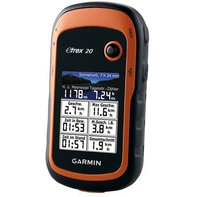 Персональный навигатор Garmin eTrex 20 Nuvlux (010-00970-10 N)