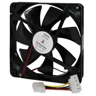 Кулер для корпуса Cooling Baby 14025S Black