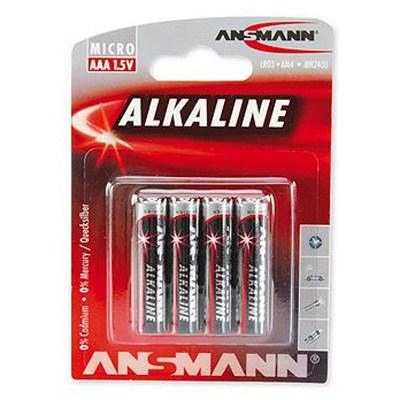 Батарейка Ansmann AAA LR03 * 4 (5015553)