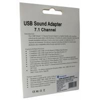 Звуковая плата Dynamode USB 8(7.1) каналов 3D RTL (USB-SOUND7-WHITE)