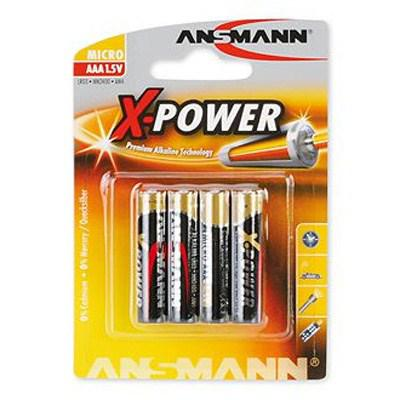 Батарейка Ansmann AAA MN2400 LR03 * 4 (5015653)