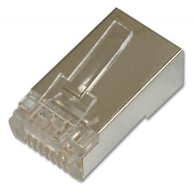 Коннектор DIGITUS RJ45 cat.6 FTP 100шт (AK-219603)