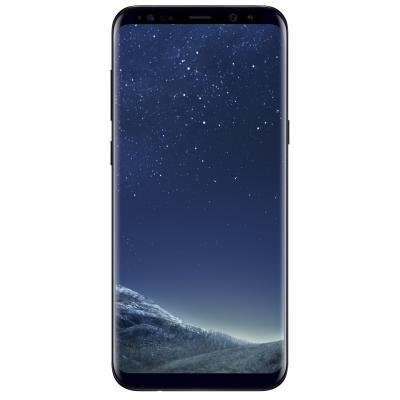 Мобильный телефон Samsung SM-G955FD/M64 (Galaxy S8 Plus) Black (SM-G955FZKDSEK)