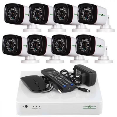 Комплект видеонаблюдения GreenVision GV-K-L05/08 (5491)