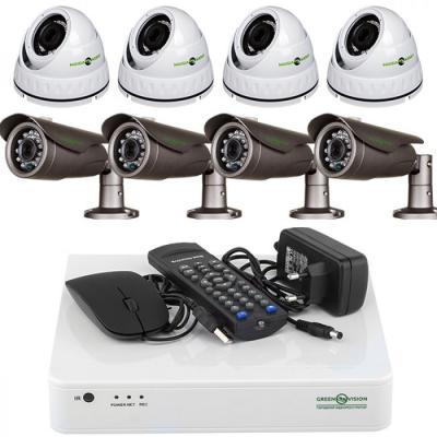 Комплект видеонаблюдения GreenVision GV-K-L07/08 (5493)