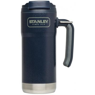 Термокружка Stanley Adventure Travel 0.47 Л темно-синя (6939236331067)