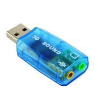 Звукова плата Atcom USB-sound card (5.1) 3D sound (Windows 7 ready) (7807)