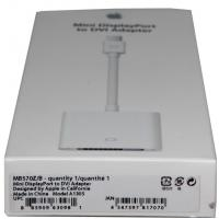 Переходник Apple A1305 Mini DisplayPort to DVI Adapter (MB570Z/B)