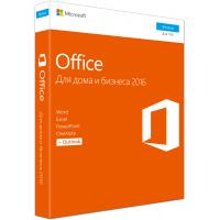 Офісний додаток Microsoft Office 2016 Home and Business Russian DVD P2 (T5D-02703)