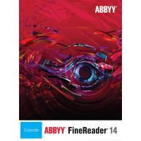 ПЗ для роботи з текстом ABBYY FineReader 14 Corporate. Лиц. на раб. место (от 3 до 5) (AB-10763)