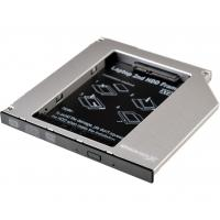 Фрейм-перехідник Grand-X HDD 2.5'' to notebook 9.5 mm ODD SATA/mSATA (HDC-24)