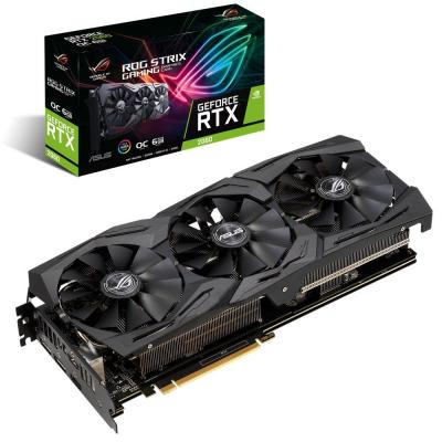 Видеокарта ASUS GeForce RTX2060 6144Mb ROG STRIX OC GAMING (ROG-STRIX-RTX2060-O6G-GAMING)