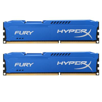 Модуль памяти для компьютера DDR3 16Gb (2x8GB) 1600 MHz HyperX Fury Fury Blu Kingston (HX316C10FK2/16)