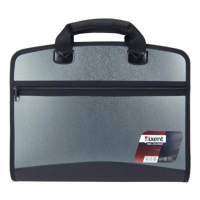 axent Папка - портфель Axent А4, 4 compartments, grey metallic (1621-11-А) 000805401