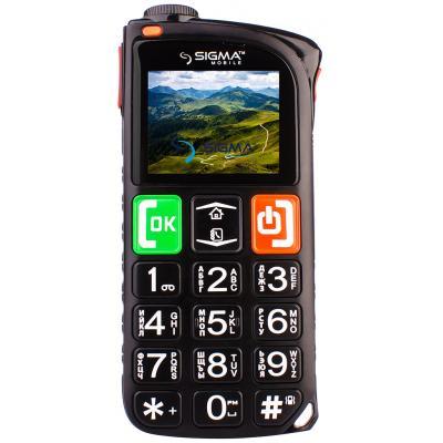 Мобильный телефон Sigma Comfort 50 Light DS Black (4827798224311)