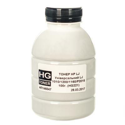 Тонер HP LJ Universal (1010/1200/1160/P2015) 100г HG (HG221-100)